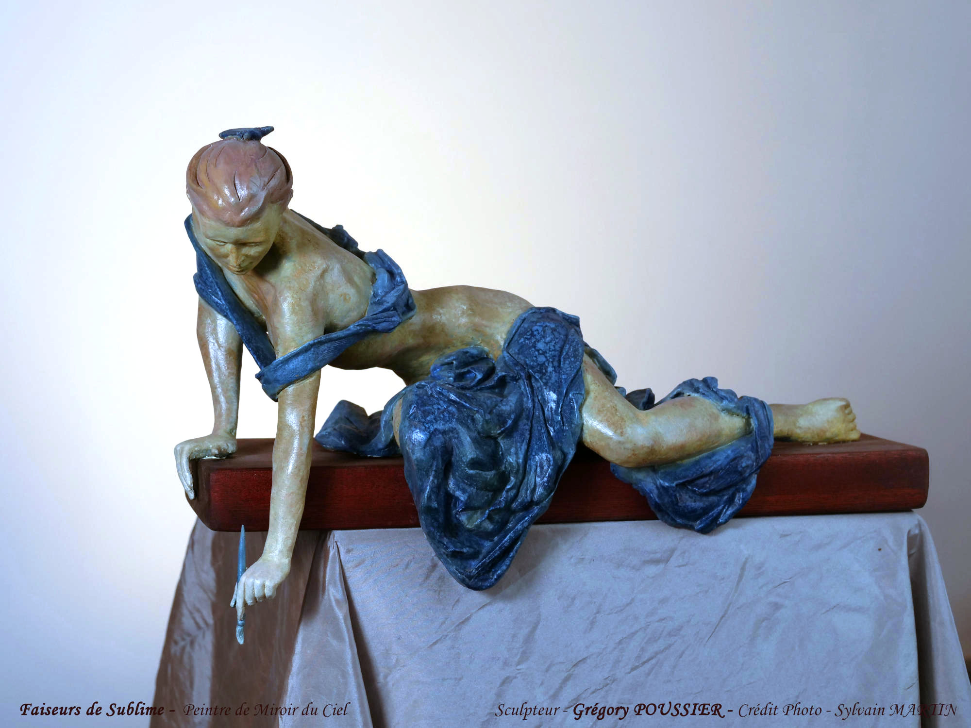 Faiseurs de Sublime - Peintre de miroir du ciel - terre cuite