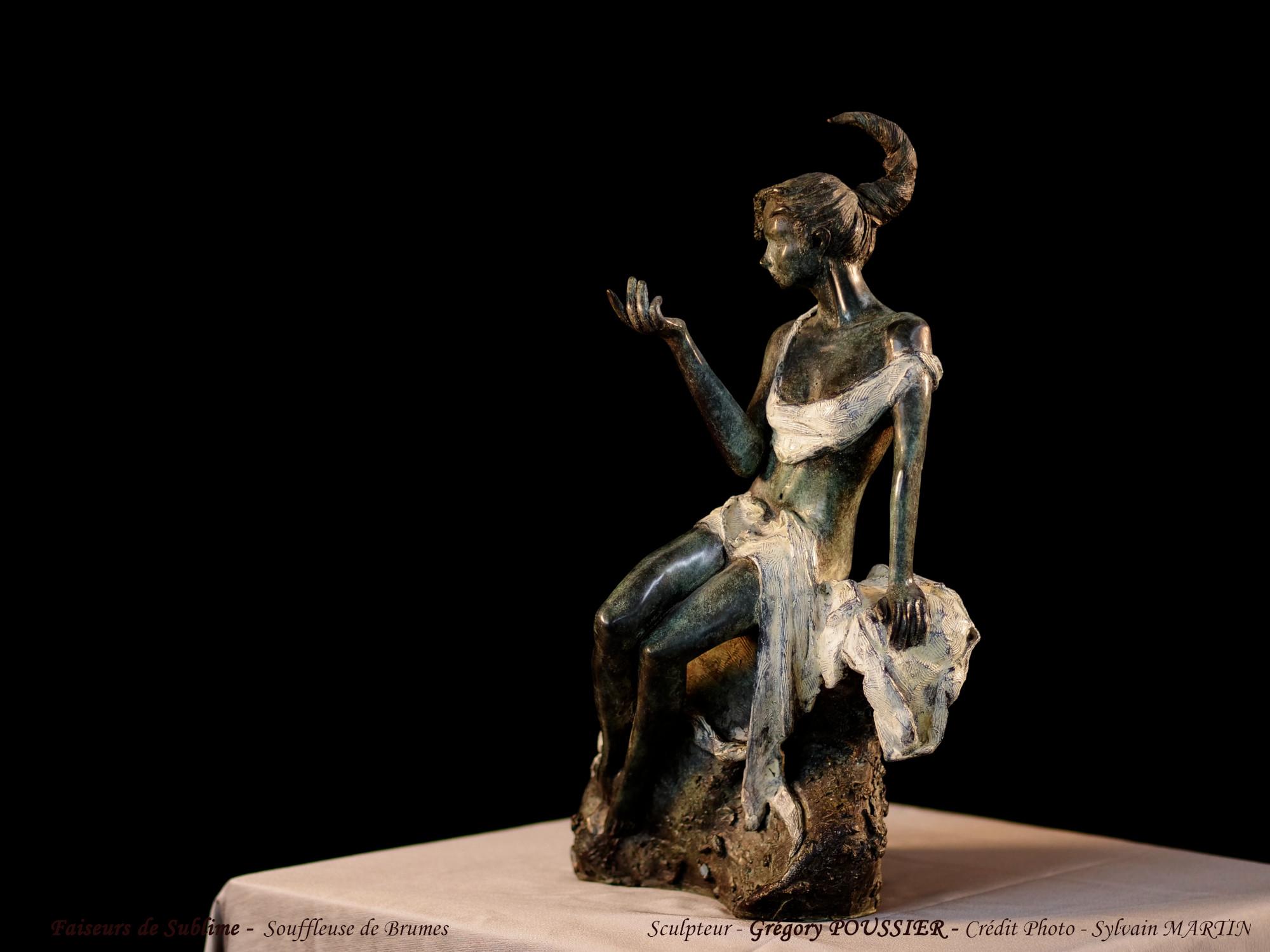 Faiseurs de Sublime - Souffleuse de brume - bronze