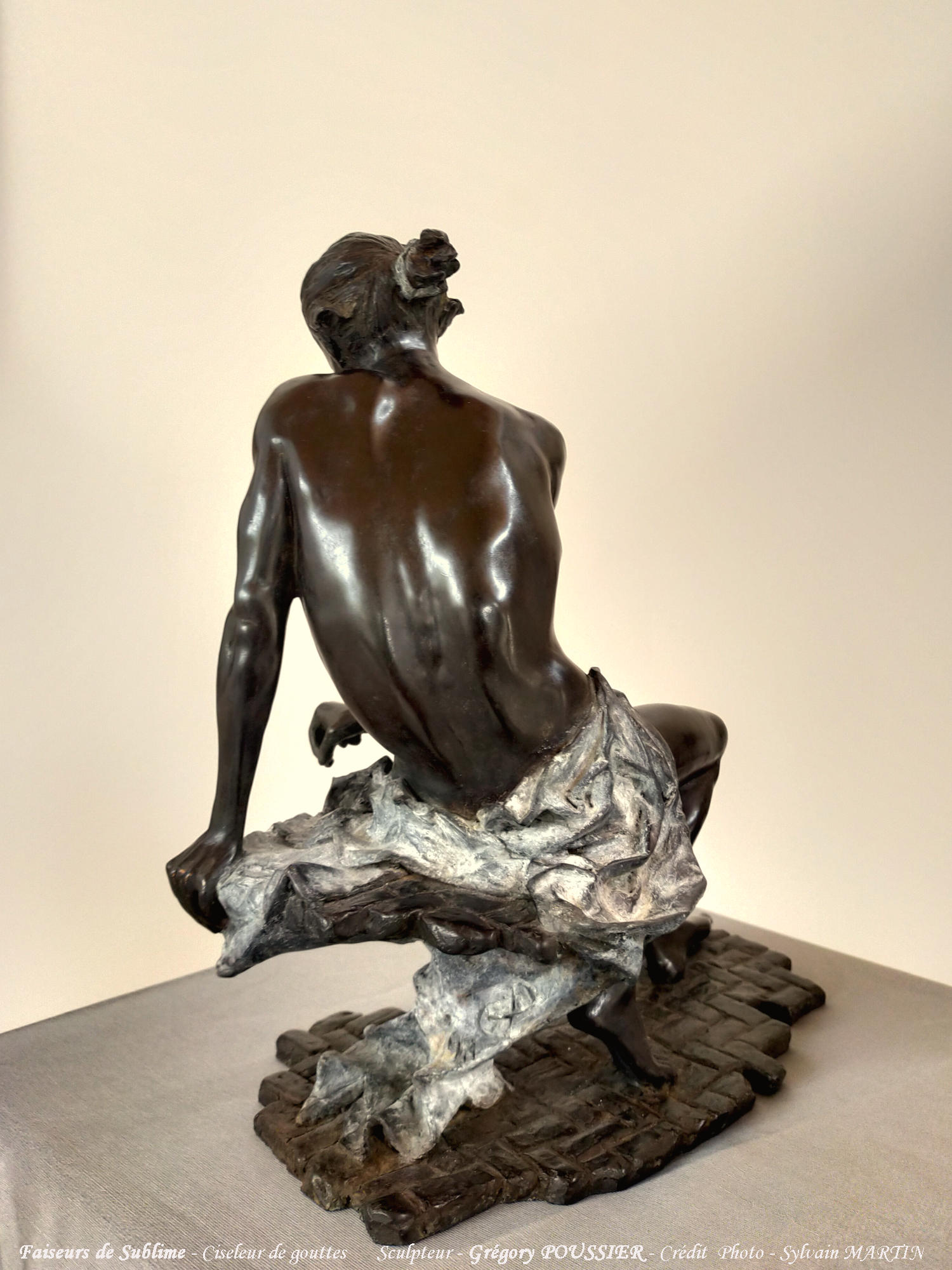 Faiseurs de Sublime - Ciseleur de gouttes - bronze
