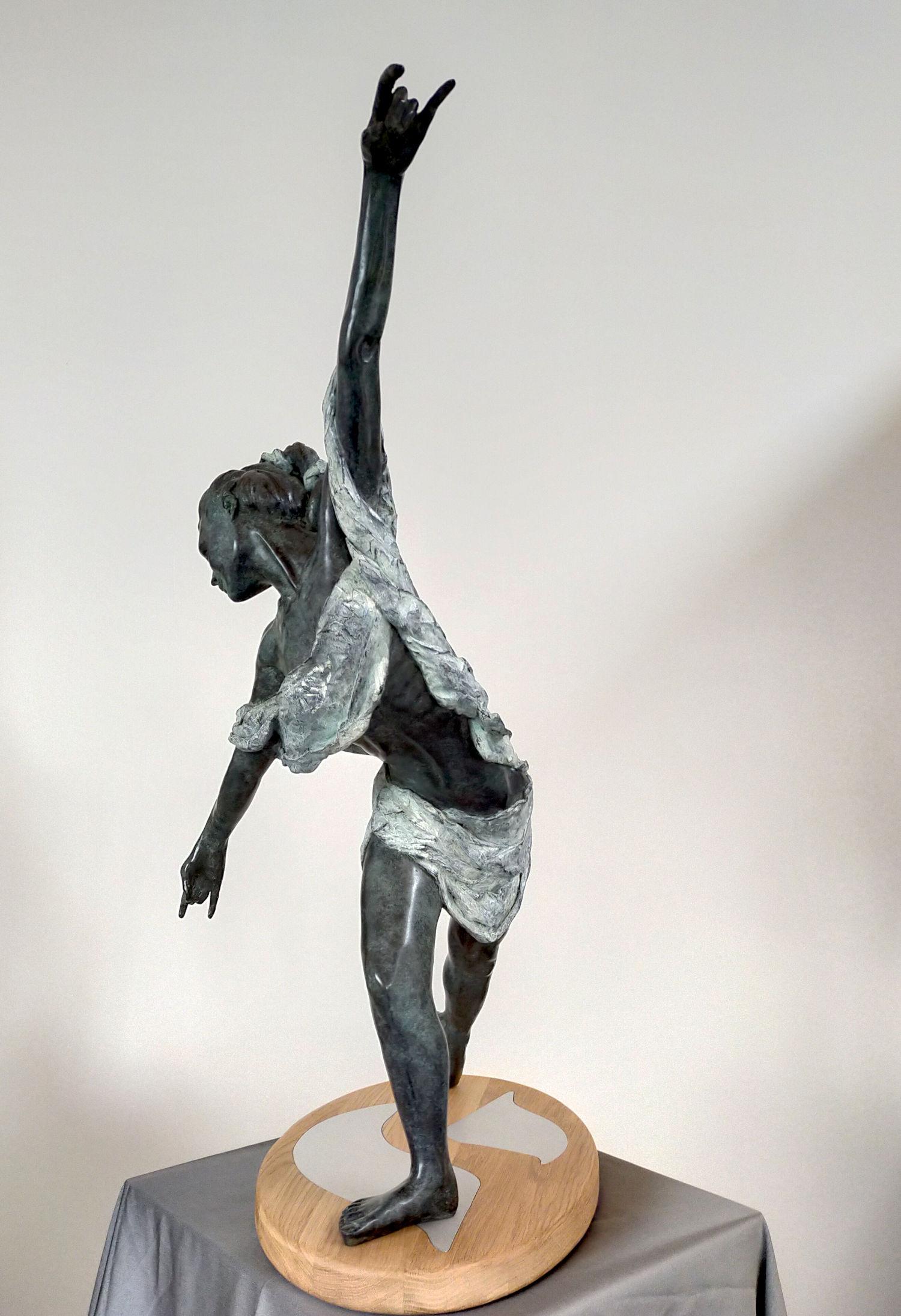Faiseurs de Sublime - Tisseuse Echelles de Jacob - bronze