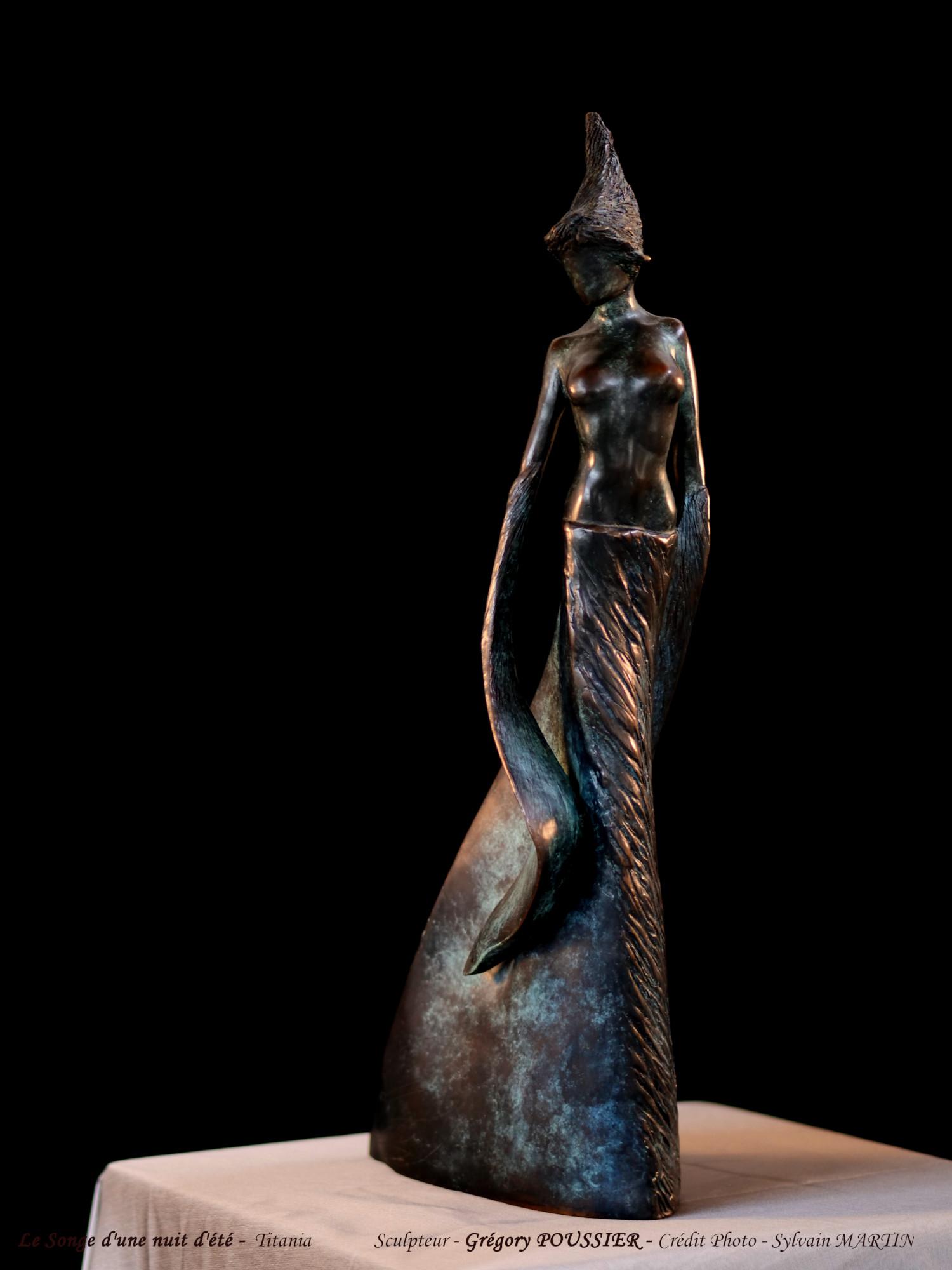 Le songe d'une nuit d'été - Titania - bronze